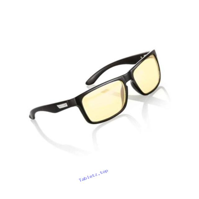 Intercept Computer gaming glasses - block blue light, Anti-glare and minimize digital eye strain - Perform better, target objects on screen easier, prevent headaches, sleep better, reduce eye fatigue