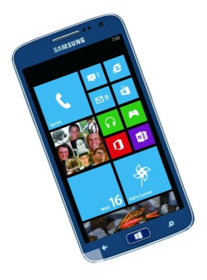 Samsung ATIV S Neo, Royal Blue 16GB (Sprint)